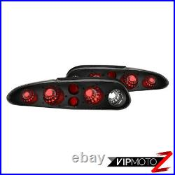 1993-2002 Chevy Camaro Z28 RS Black Tail Lights Lamps Replacement Left+Right SET