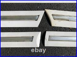 1995 1996 1997 Oem Lincoln Town Car Door Trim Molding Set Body Side Belt