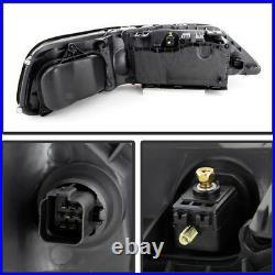 2005-2011 Lincoln Town Car Sedan Limo Black Front LEFT RIGHT Headlights Assembly