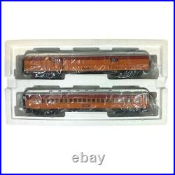 20-44009 MTH South Shore Line 2-Car 70' Madison Baggage/Coach Set withPassengers