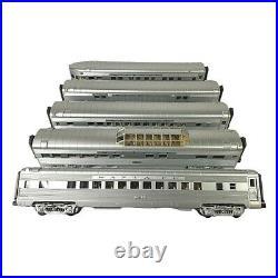 20-65066 MTH Santa Fe 5-Car 70' Streamlined Passenger Set withPassengers