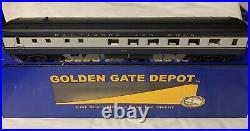 4 CAR GOLDEN GATE DEPOT 3rd RAIL BALTIMORE & OHIO 21 PASSENGER SET