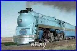 AHM/Rivarossi HO Scale Santa Fe Chief 7-Car Passenger Set Blue Goose edition