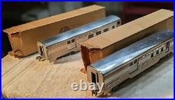 AMT-American Model Trains-Auburn-Kusan, Santa Fe Passenger Cars Complete Set (9)