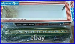 American Flyer 4-8251 S Scale Erie Alco ABA Diesel and 5 car Passenger set