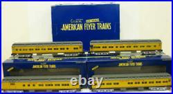 American Flyer 6-48978 S Union Pacific Heavyweight Passenger Car (Set of 4) NIB