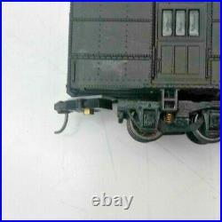 Athearn HO Santa Fe Heavyweight 8-Car Passenger Car Set withCV Trucks & Kadees