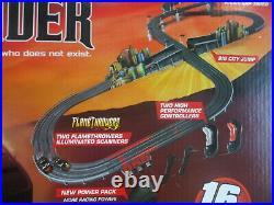 Auto World K. I. T. T vs K. A. R. R. World 16' Knight Rider Slot Car Race Set MIB