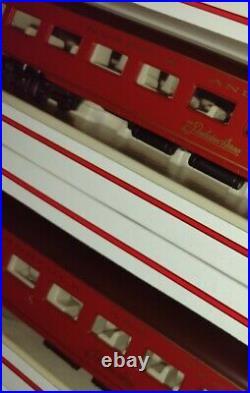 BACHMANN 6 UNIT DELUXE PASSENGER CAR SET NORFOLK & WESTERN HO SCALE NEW train