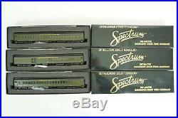 Bachmann Spectrum HO Nashville Chat StL Combine & Coach 3 Car Passenger Set V46