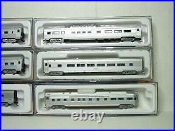 Con-cor N Scale 6 Car Budd Passenger Car Set New York Central 01-041427