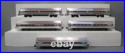 E. Welz O Gauge Amtrak 5-Car Passenger Set 3-Rail EX