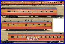 Erie Limited Southern Pacific Daylight Set GS-4 with12x Passenger Car BRASS READ