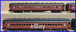 Golden Gate Depot PRR 80' 4-Car Heavyweight Passenger Set #1 O-Gauge