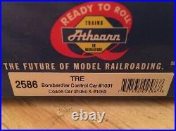 HO Athearn Dallas Trinity Railway Express TRE Bombardier 3 Car Passenger Set