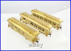 HO Brass PFM Fujiyama Old Time Passenger 3-Car Set Boxed