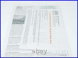 HO Con-Cor 0001-008751 GM Demonstrator Aerotrain 3-Car Add-On Passenger Set