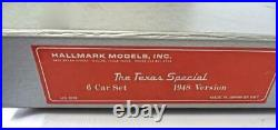 HO Hallmark Brass HS0098 Texas Special 1948 version 6 Car Passenger Set NEW 7EA