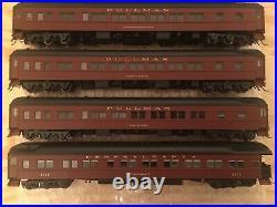 HO MTH Pennsylvania 5-Car Heavyweight Passenger Set PRR Lighted Interiors