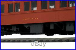 HO MTH Pennsylvania 5 Car Heavyweight Passenger Set for 2 Rail Track 80-40001