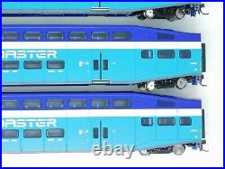 HO Scale Athearn 25928 Coaster Bombardier Coach Passenger Car Set