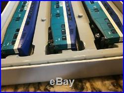 HO Scale Athearn Bombardier Coaster 3 Car Set 1 Control Car & 2 Passenger Cars