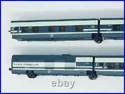 HO Scale Electrotren 3207K Talgo Trenhotel Camas Renfe Passenger Car Set