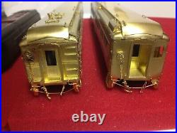 HO V / H brass CPR 5 car Kettle Valley passenger set + Diner & Solarium V/H cars