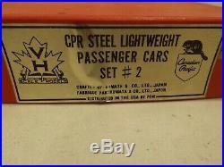 HO Van Hobbies brass CPR (3) car passenger set #2 in original box