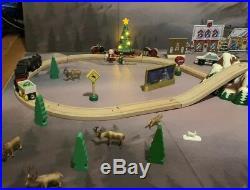HUGE Brio Polar Express Lot Starter Set, Tree, Passenger Car, Train Mat, Th