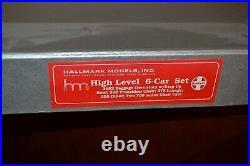 Hallmark 6 Car Santa Fe (atsf) High Level El Capitan Passenger Set