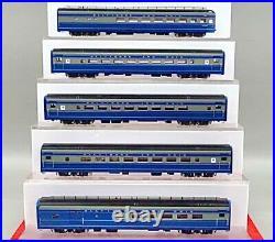 Ho Brass Key B&o Baltimore & Ohio Cincinnatian 5-car Passenger Set F/p