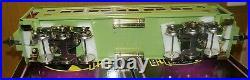 Ives Mth Standard Gauge Tinplate 4-car Apple Green 240 Series Passenger Set Ob's