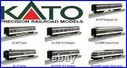 KATO 106102 N SCALE CN Transcontinental 7 Car Passenger Set 106-102 NEW