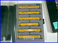 KATO N 106-014 UP Union Pacific Smooth Side Passenger 6 Car Set