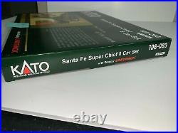 KATO N 106-083 Santa Fe Super Chief 8 Car Passenger Set