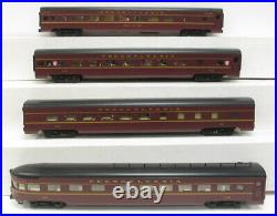 K-Line K4680NN Pennsylvania 4-Car Aluminum Passenger Set EX/Box