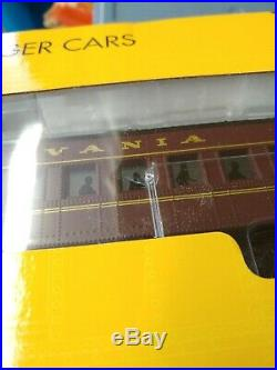 K-Line K4880A PRR Heavyweight Passenger Car Set. NIB, OUTER BOX! (F36)