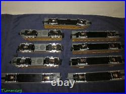 K-Line K-1121 Milwaukee Road Hiawatha Diesel Passenger Set ABA & 6 Cars