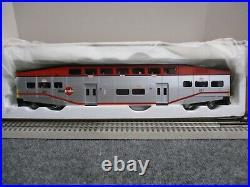 K-Line k-4636A Cal Train Bombardier Commuter Passenger 4 Car set 18 NEW 2005