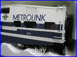 K-Line k-4636D Metrolink Bombardier Commuter Passenger 4 Car set 21 NEW 2005