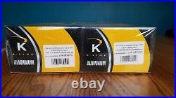 K-line 4613 California Zepher 21 Extruded Aluminum 8 Passenger Car Set Nib