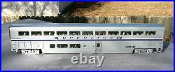 K-line Amtrak 21 4 Car Superliner Extruded Aluminum Passenger Car Set Orig Boxs