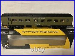 K-line By Lionel Us Army Troop Kitchen 15 Passenger Car! For O Gauge Train Set