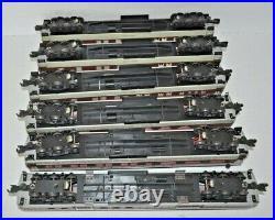K-line Heavyweight Illuminated Lackawanna Passenger 6-car Set O Gauge