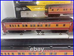 K-line K4888 Southern Pacific Daylight 15 5-Car Passenger Set O Gauge Used SP