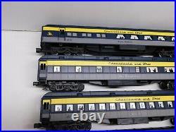 K-line O Scale Chesapeake & Ohio Heavyweight 6-Car Passenger Set with Boxes