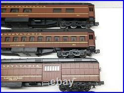 K-line O Scale Pennsylvania Railroad Heavyweight 6-Car Passenger Set with Boxes