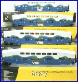 K-line Vre 18 Bombardier Commuter Passenger Car Set New