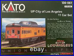 Kato 106-087 N Scale Union Pacific City of Los Angeles 11-Car Passenger Set
